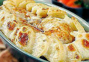 Udka kurczaka zapieczone z ziemniakami i majonezem